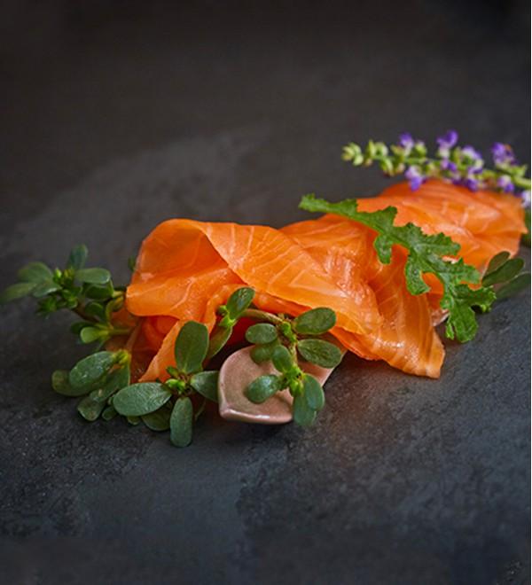 Smoked Salmon Patagonica  (100 gr. )