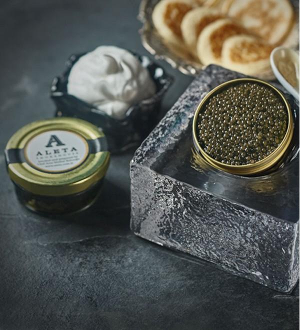 Ossetra Russian Sturgeon Caviar ( 50gr )