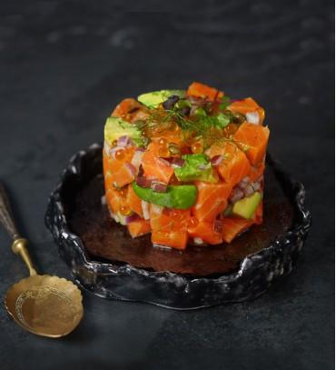 Smoked Salmon Tartar (210-230 gr.)